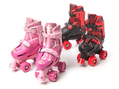 Kids Adjustable Quad Skates- Two Choices