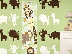 Jungle Growth Chart Kit