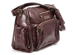 Ju-Ju-Be: Be Fabulous Diaper Bag- Brown
