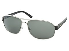 Men's Fashion - Silver / Dark Green