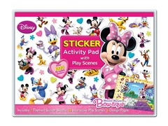 Disney Minnie Mouse Activity Pad w/Play Scenes