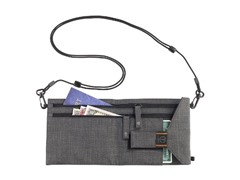 T-Tech by Tumi Neck Stash, Charcoal Charcoal
