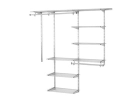 Rubbermaid 3-6' Deluxe Closet Kit