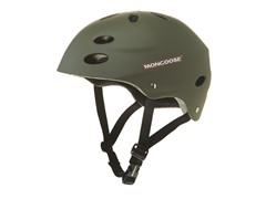 Mongoose Green Extreme BMX Helmet (8+Yrs)