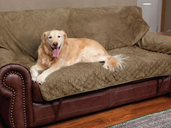 Loveseat Full-coverage Protector - Moss