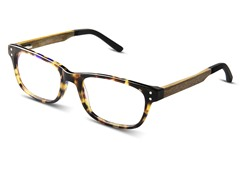 Melrose Optical Frame, Olive Oak