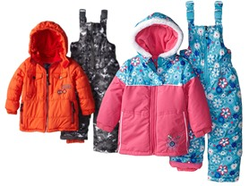 Girls and Boys Snowsuits!