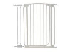 Extra Tall Swing Gate w/ Ext - White