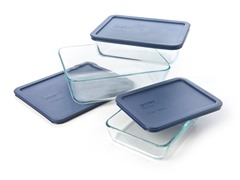 Pyrex 6pc Rectangular Storage Set