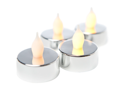 Westinghouse 16-Pc Silver LED Tealights