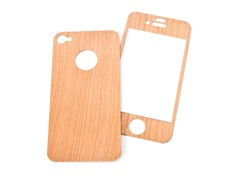 Mootoe Wood Cover for iPhone 4/4S - Cherry