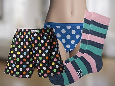 Happy Socks Undies & Socks for Him & Her