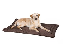 Slumber Pet Water Resistant Bed - Chocolate