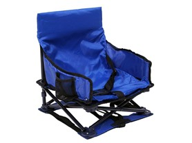 Regalo Fold & Go Portable Blue Activity Chair