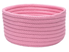 Pink Woven Storage Basket - 3 Sizes