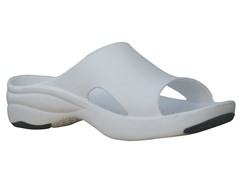 Women's Premium Slide, White / Black