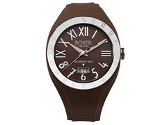 Men's BOX 40 BROWN Brown Dial Watch