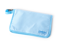 Blue Diaper Clutch
