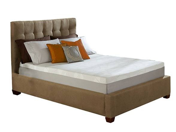 Lucid 10in Gel Memory Foam Mattress