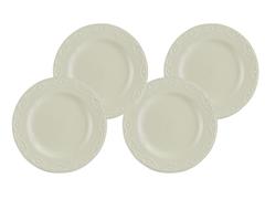 """Paula Deen Whitaker 11"""" Dinner Plate - 4"""