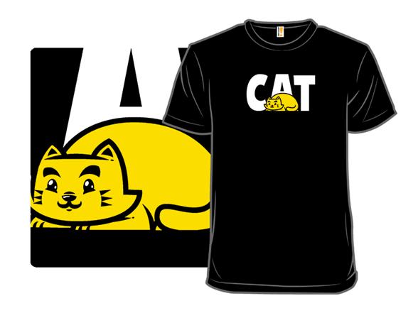 Image of Heavy-duty Cat T Shirt