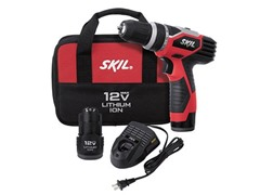 Skil 12-V Li-Ion Drill/Driver Kit, 2 Batteries