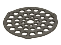 "Lodge 8"" Cast Iron Trivet/Metal Rack -Black"