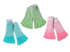 No Show/Mini Crew Toe Sock 3-Pack