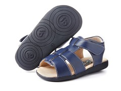 Squeaky Shoe - Connor, Navy (3-8)