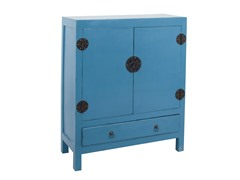 Lunar Cabinet - Antique Dark Blue