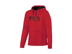 Old School Hoody - Red/Black