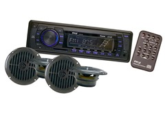 In-Dash Marine AM/FM PLL Tuning Radio