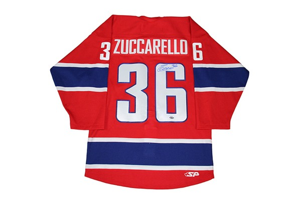 d3f4a6982 Mats Zuccarello Signed Norway Jersey