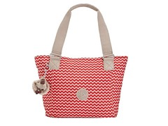 Kipling Jonesy Small Tote, Chevron Red