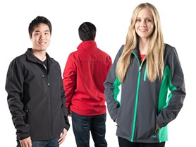 Fila Men's and Women's Softshell Jackets