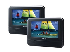 "RCA 7"" Dual Screen Mobile DVD System"
