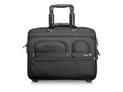 Tumi Alpha Deluxe Wheeled Brief wth Laptop Case