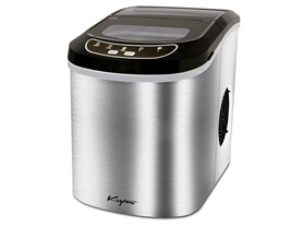 Keyton 26 lb. K-ICEMAKERSS Stainless Portable Ice Maker