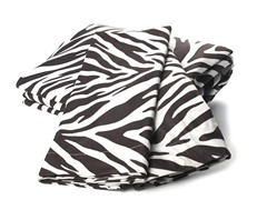 MicroFlannel Queen Set - Zebra