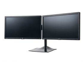 HP EliteDisplay Monitors with DS100 Dual-Monitor Display