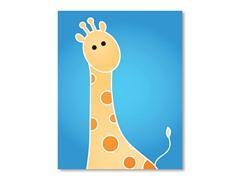 """11"""" x 14"""" Giraffe Print"""