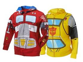 Transformers Hoodies (Sizes 4-7)