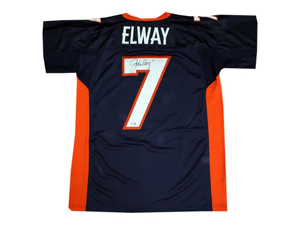 competitive price 234df d8b3f John Elway Signed Authentic TB Jersey