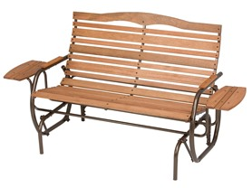 Jack Post Country Garden Collection Patio Glider