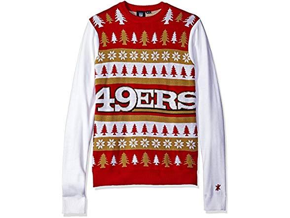 pretty nice 8543b a8a20 FOCO San Francisco 49ers Sweater - Large