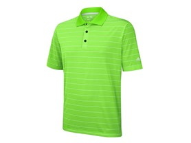 adidas ClimaLite Striped Polo Shirt