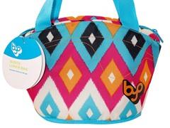 BuiltNY Gusto Lunch Bag-Diamond IKAT
