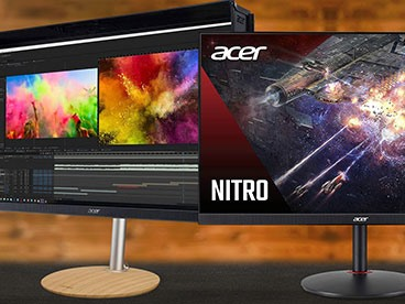 High End Monitors from Acer and Samsung