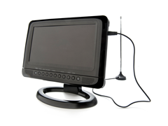 "GPX 9"" Portable TV/DVD Player"