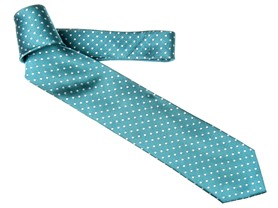 Montes Dot Tie, Teal